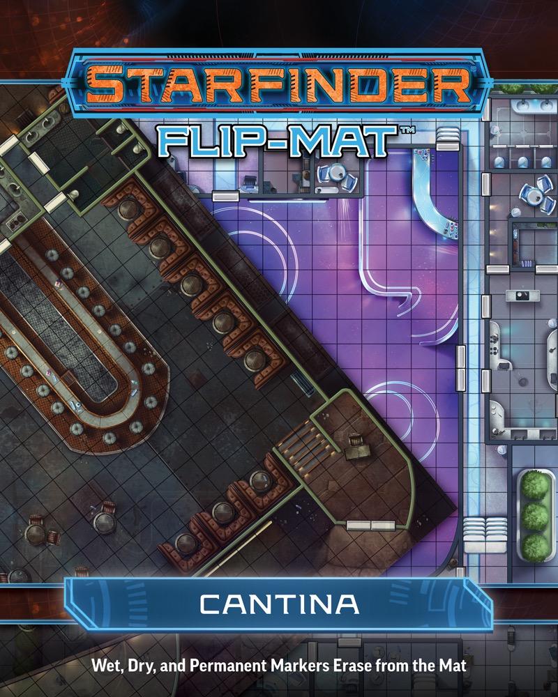 Paizo Com Starfinder Flip Mat Cantina