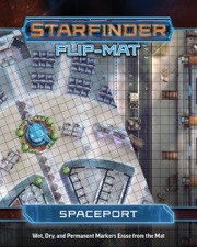 Starfinder Flip-Mat: Spaceport