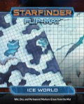 Starfinder Flip-Mat: Ice World