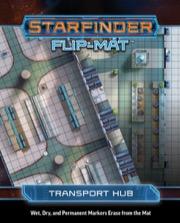 Starfinder Flip-Mat: Transport Hub -  Paizo Publishing