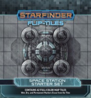 Starfinder Flip-Tiles: Space Station Starter Set