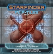 Starfinder Flip-Tiles: Space Station Emergency Expansion -  Paizo Publishing