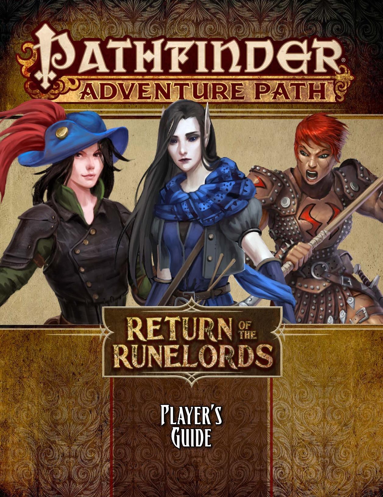 Paizo Com Pathfinder Adventure Path Return Of The Runelords