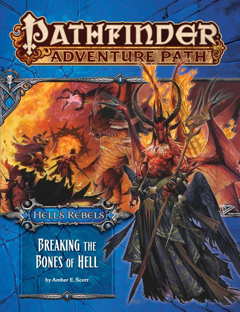 Pathfinder Adventure Path #102: Breaking the Bones of Hell (Hell's Rebels 6  of 6)