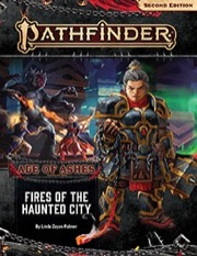 Fires of the Haunted City Pathfinder Adventure Path 148 Age of Ashes 4 of 6 -  Paizo Publishing