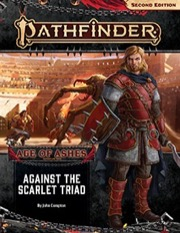 Against the Scarlet Triad Pathfinder Adventure Path 149 Age of Ashes 5 of 6 -  Paizo Publishing