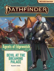 Devil at the Dreaming Palace Pathfinder Adventure Path 157 Agents of Edgewatch 1 of 6 -  Paizo Publishing