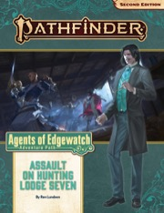 Assault on Hunting Lodge Seven Pathfinder Adventure Path 160 Agents of Edgewatch 4 of 6 -  Paizo Publishing