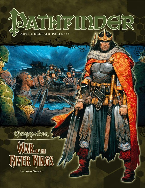 Cover of Pathfinder Adventure Path #35: War of the River Kings (Kingmaker 5 of 6)
