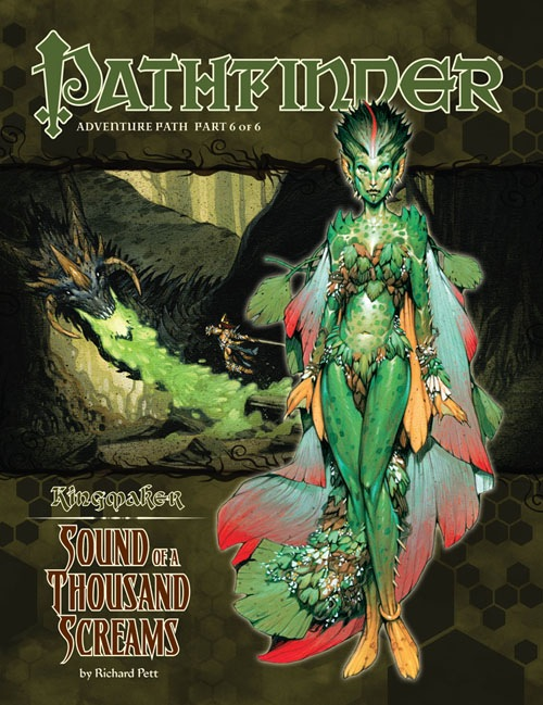 Cover of Pathfinder Adventure Path #36: Sound of a Thousand Screams (Kingmaker 6 of 6)