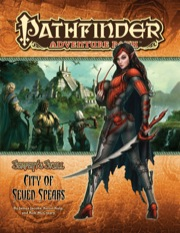 Pathfinder Adventure Path #39: City of Seven Spears (Serpent's Skull 3 of 6) (PFRPG)