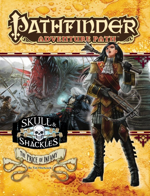 Pathfinder Adventure Path #59: The Price of Infamy (Skull & Shackles 5 of 6)
