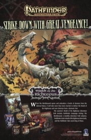 Pathfinder Adventure Path #73: The Worldwound Incursion (Wrath of the Righteous 1 of 6) (PFRPG)