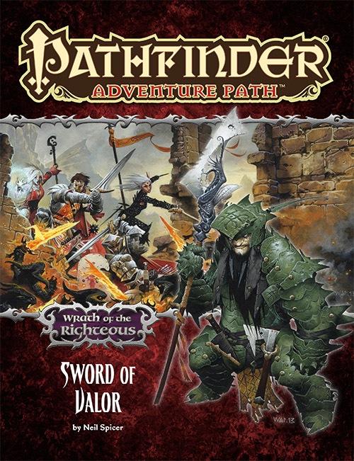 Paizo Com Pathfinder Adventure Path 74 Sword Of Valor Wrath Of