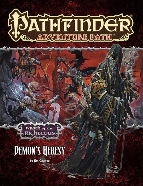 Paizo Com Pathfinder Adventure Path 75 Demon S Heresy Wrath Of