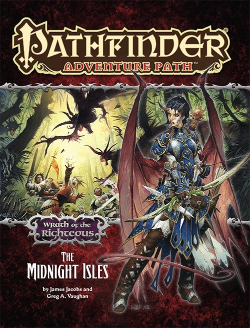 Paizo Com Pathfinder Adventure Path 76 The Midnight Isles Wrath