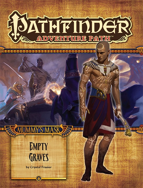 Pathfinder Adventure Path #80: Empty Graves (Mummy's Mask 2 of 6) (PFRPG)