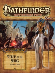 Pathfinder Adventure Path #82: Secrets of the Sphinx (Mummy's Mask 4 of 6) (PFRPG)