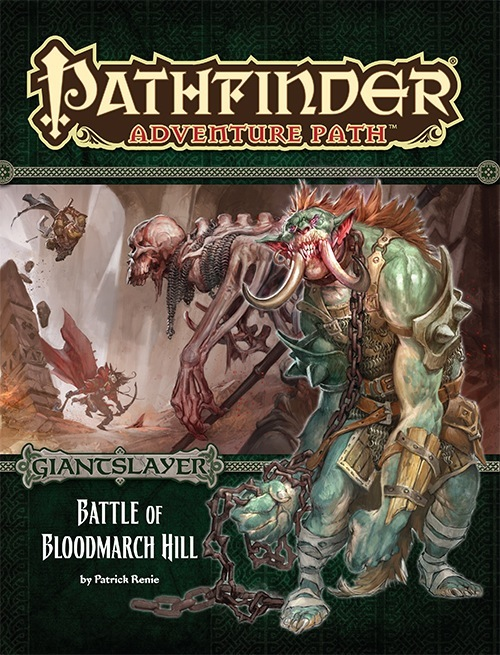 Cover of Pathfinder Adventure Path #91: Battle of Bloodmarch Hill (Giantslayer 1 of 6)