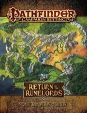 Pathfinder Campaign Setting: Return of the Runelords Poster Map Folio