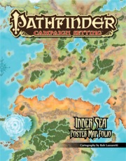 Pathfinder Campaign Setting: Inner Sea Poster Map Folio