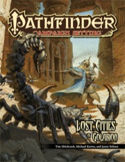 Pathfinder Campaign Setting: Lost Cities of Golarion (PFRPG)