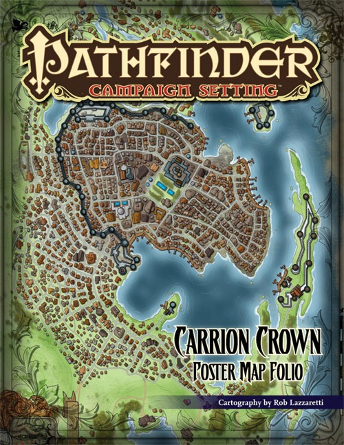 Paizo Com Pathfinder Campaign Setting Carrion Crown Poster Map