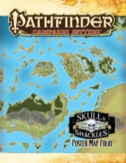 Pathfinder Campaign Setting: Skull & Shackles Poster Map Folio