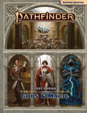Lost Omens Gods and Magic: Pathfinder RPG Second Edition -  Paizo Publishing