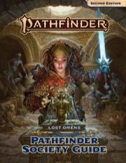 Pathfinder Lost Omens: Pathfinder Society Guide -  Paizo Publishing