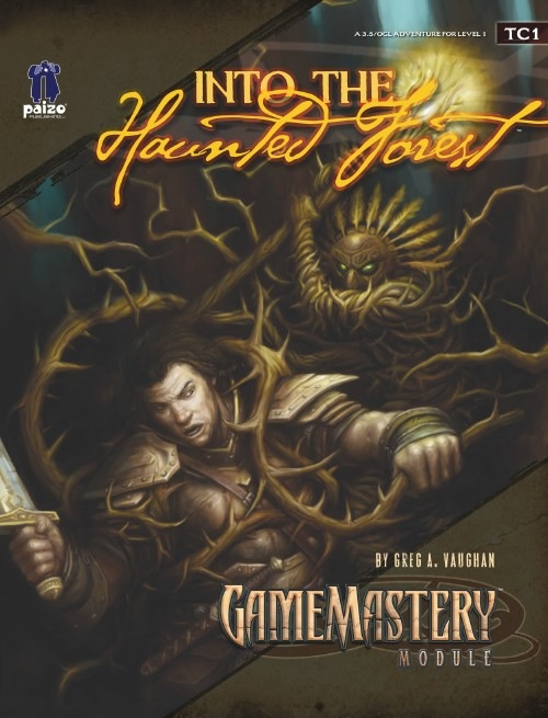 Cover of TC1: Into the Haunted Forest
