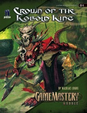 GameMastery Module D1: Crown of the Kobold King (OGL)