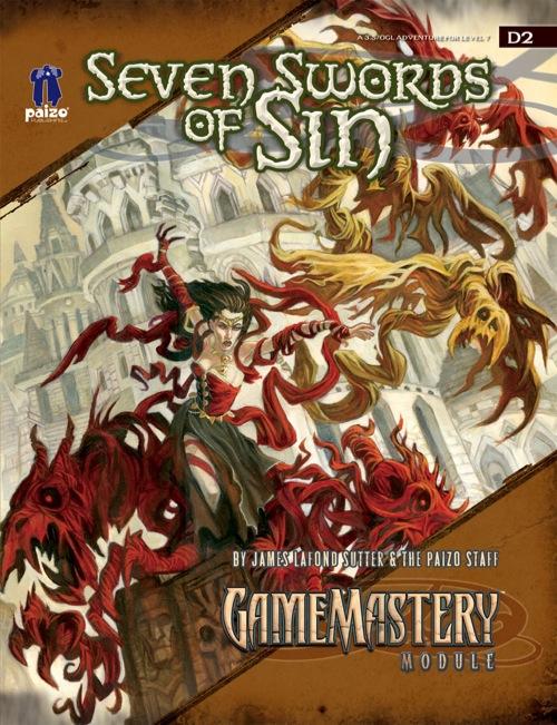 Cover of Seven Swords of Sin