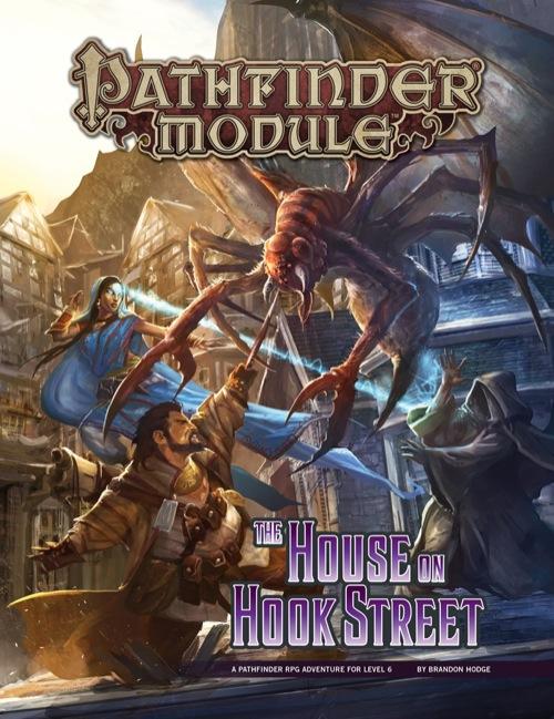 Pathfinder Module: The House on Hook Street (PFRPG)
