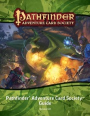 Pathfinder Adventure Card Society Guide