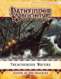 Pathfinder Society Adventure Card Guild Adventure #0-3—Treacherous Waters PDF