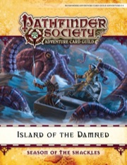 Pathfinder Society Adventure Card Guild Adventure #0-4—Island of the Damned PDF