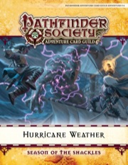 Pathfinder Society Adventure Card Guild Adventure #0-6—Hurricane Weather PDF