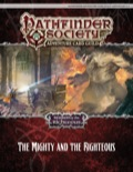 Pathfinder Society Adventure Card Guild Adventure #1-4—The Mighty and the Righteous PDF