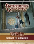 Pathfinder Society Adventure Card Guild Adventure #2-5—Bastion of the Waking Rune PDF