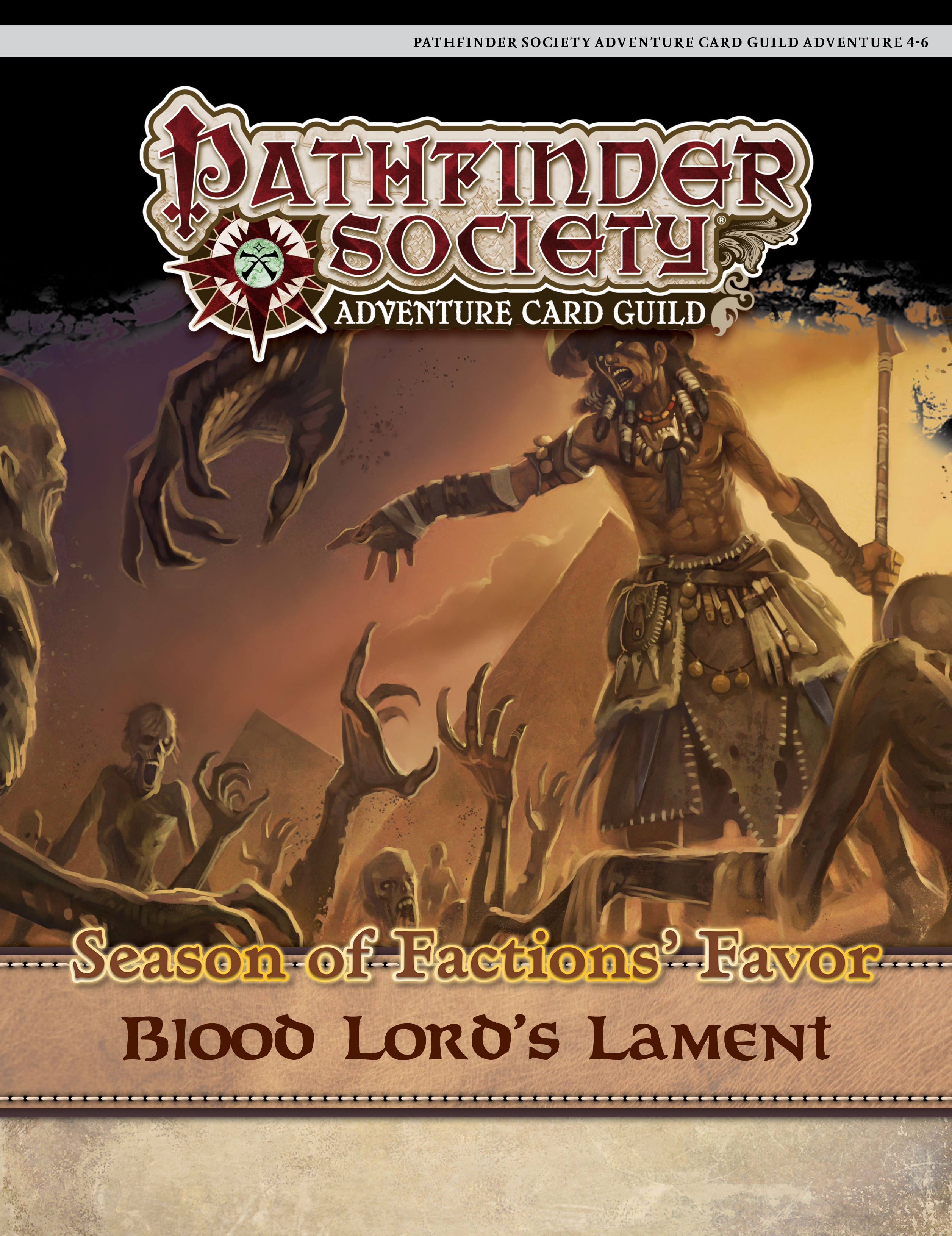 Paizo Com Pathfinder Society Adventure Card Guild 4 6 Blood