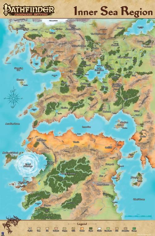 paizo.  Community Use Package: Pathfinder World Maps