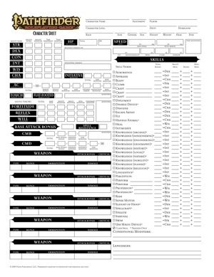 photograph relating to Pathfinder Printable Spell List known as Regional Employ the service of Bundle: Pathfinder Roleplaying Match Heritage Sheets