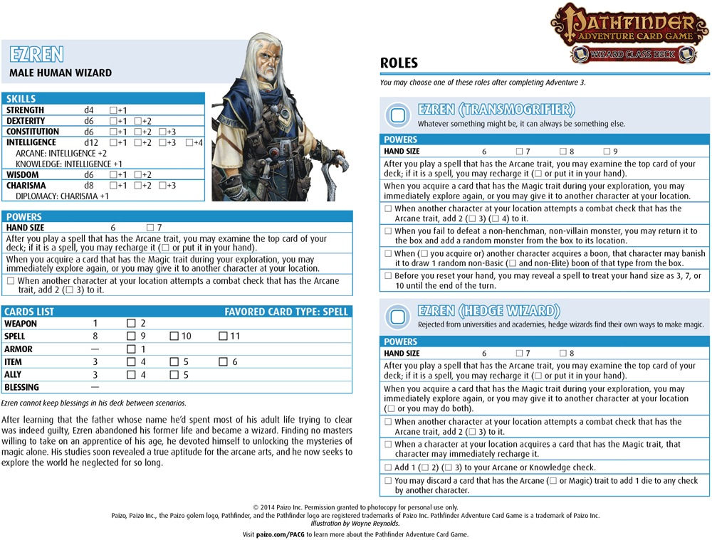 photograph relating to Pathfinder Character Sheets Printable referred to as Neighborhood Employ the service of Package deal: Pathfinder Journey Card Recreation Identity Sheets