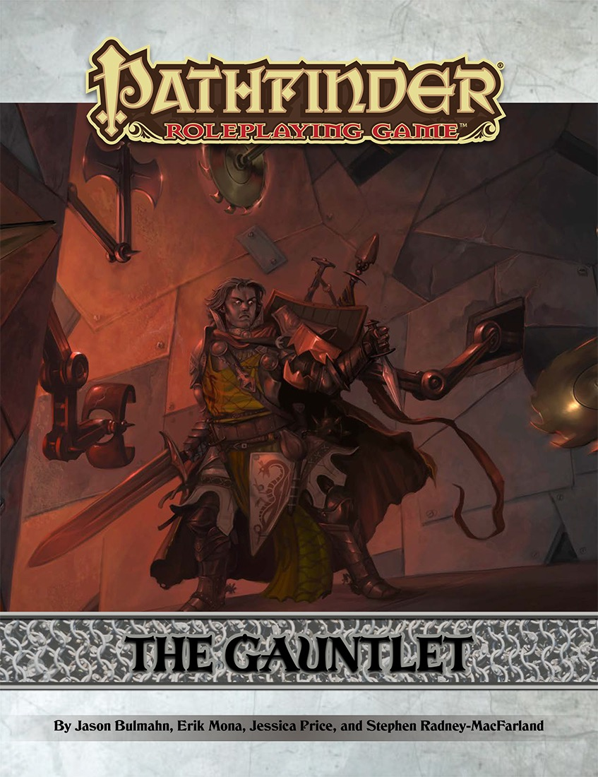 Cover of The Gauntlet (Pathfinder)