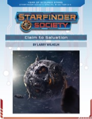 Starfinder Society Special #1-00: Claim to Salvation