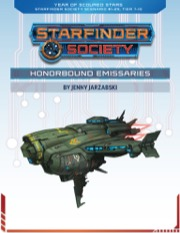 Starfinder Society Scenario #1-29: Honorbound Emissaries