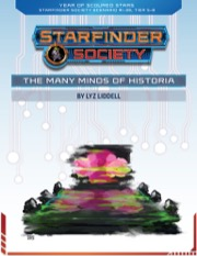 Starfinder Society Scenario #1-38: The Many Minds of Historia