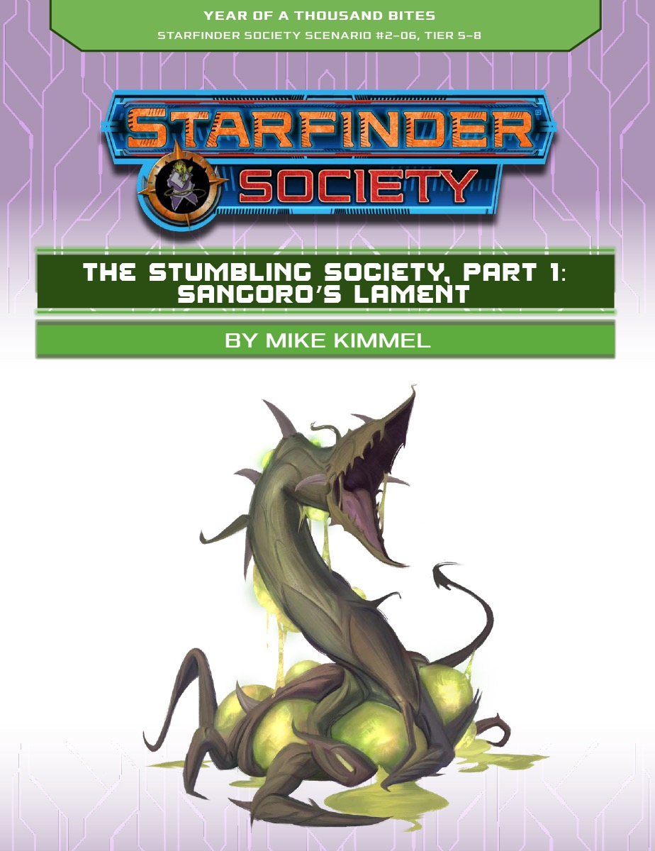 SFS 2-06: The Stumbling Society, Part 1: Sangoro's Lament cover art