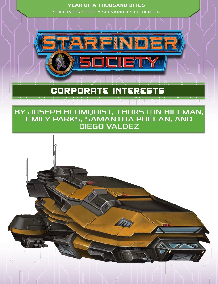 SFS 2-10: Corporate Interests cover art